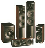 JBL Serie LS, diffusori surround