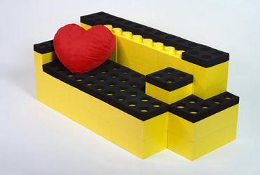 LunaBlock: mattoncini LEGO di lusso per arredare la casa