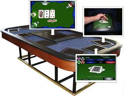 X10 Ten Player Automated Table: il touch screen approda al tavolo da poker