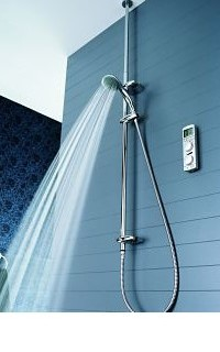 Grohe Wireless Shower: un click per la doccia perfetta