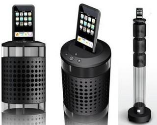 Aerosystem, la nuova docking station per iPod di Jean-Michel Jarre