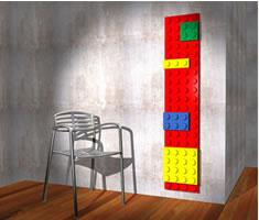 Il mattoncino Lego diventa un calorifero