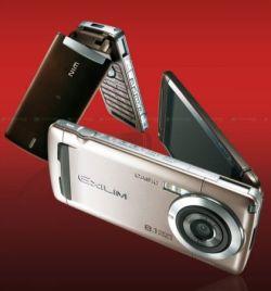 Casio W63CA Exilim con fotocamera da 8,1 megapixel