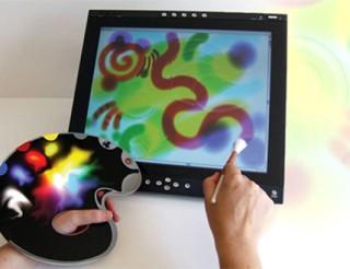 Virtuo, artisti con la tavolozza digitale