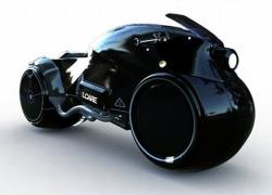 """ICARE: moto futuristica in stile """"Batman"""""""