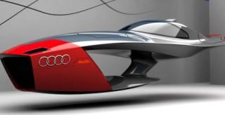Audi Calamaro, le auto volanti del prossimo futuro