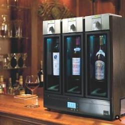 """Skybar, una """"mini-cantina"""" HiTech per il vostro vino"""