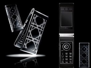 Dior Phone Diamonds Glorious Black e My Dior: telefonia di lusso