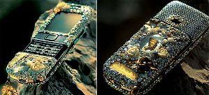 Givori Nefertiti, prezioso telefonino che nasce da Nokia Arte