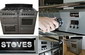 Lusso in cucina con Diamond Cooker di Stoves