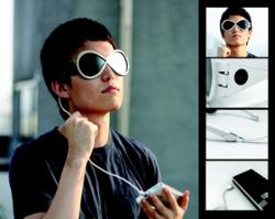 SIG, occhiali da sole e carica batterie