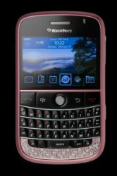 Pink Blackberry Bold e Pink 3G iPhone di Amosu