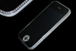 iPhone Swarovski & Sapphire Edition di Goldstriker