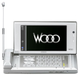 Wooo, il telefonino con fotocamera 3D di Hitachi