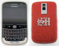 Cellulari di lusso: BlackBerry Tellor Limited Edition