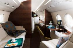 Falcon 7x, il jet arredato dalla BMW