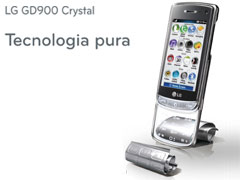 LG presenta il nuovo LG GD900 Crystal