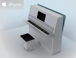iPiano, il pianoforte con la mela