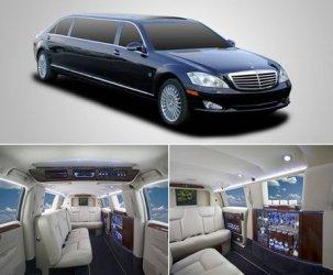 Esclusiva limousine Mercedes