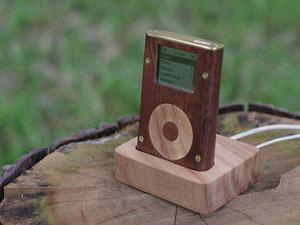 Wood-Pod, l'iPod si veste di legno