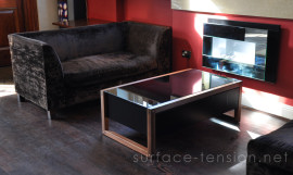 Surface Tension, l'arcade coffee-table