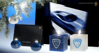 Regali di Natale firmati Lamborghini