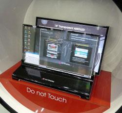 Il display del futuro è trasparente