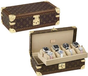 Da Louis Vuitton due eleganti watch-case