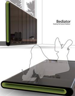 Il Bediator, letto radiatore poli-funzionale