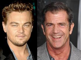 Mel Gibson e Leonardo DiCaprio in un film sui vichinghi