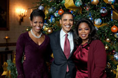 Oprah: intervista di Natale al Presidente Obama