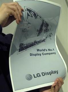 LG presenta il giornale del futuro