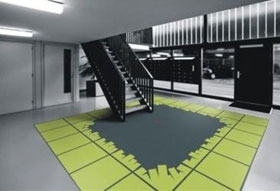 Fletco carpet tiles di Starck
