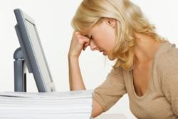 Il lavoro può far male:  aumentano i malati d'ufficio