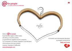Eforpeople: acquisti super fashion e beneficenza