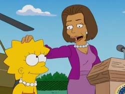 "Michelle Obama guest star ne ""I Simpson"""