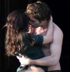 """New Moon"" : Robert Pattinson e Kristen Stewart in Italia"