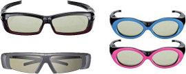 Il fashion del 3D, shutter glasses alla moda