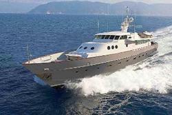 Il Paolucci, lo yacht del Presidente della Repubblica, è pronto a riprendere il mare