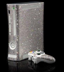 CrystalRock e Microsoft per la Xbox 360 rivestita di cristalli Swarovski