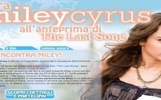 Miley Cyrus: come incontrarla a Roma il 21 e 22 aprile