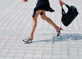 Donne sempre di corsa? Non si rischia l'infarto