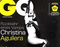 Christina Aguilera non può vivere senza uomini. Nuda su GQ, lancia frecciate a Lady Gaga