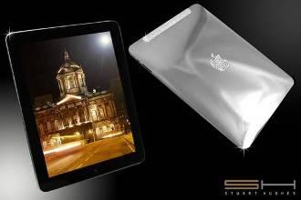 Stuart Hughes presenta il Solid Platinum iPad SUPREME Edition