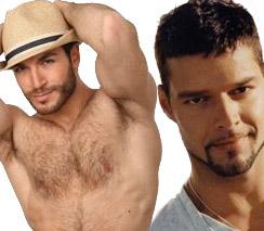 Ricky Martin e Valerio Pino hanno avuto una love story?