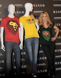 Sudafrica 2010: Mango lancia le t-shirt solidali ispirate all'inno di Shakira