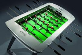 Calcio Balilla Audi, finalmente in produzione lo strepitoso concept