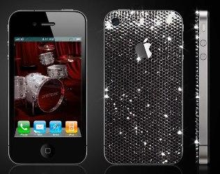 iPhone 4 tempestato di Swarovski