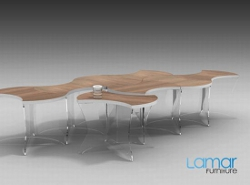 Flow, il coffee table modulare