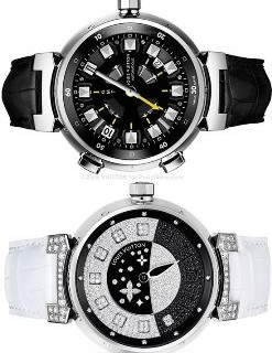 Louis Vuitton Tambour Spin Time Collection, orologi eleganti ed esclusivi